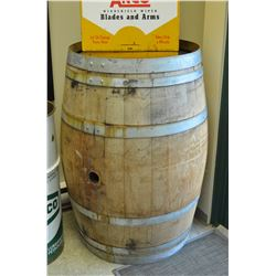 Vintage Wine Barrel