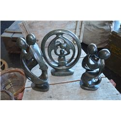 Stone Sculpture - (Set of 3)
