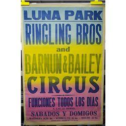 Original 1961 R.B.B.B. Luna Park One Sheet Poster