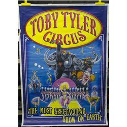 Original Large Toby Tyler Framed Poster