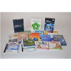 Lot of various software
