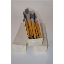 Lot of new painters brushes