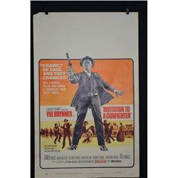 Vintage Movie Poster - INVITATION TO A GUNFIGHTER - (Circa 1966).