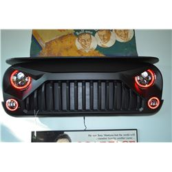 Custom Grille Wall Shelf