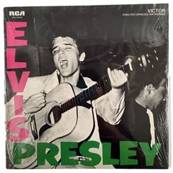 "Authentic Elvis Presley 1st Album - ""Sealed"" in Original Wrapper!"