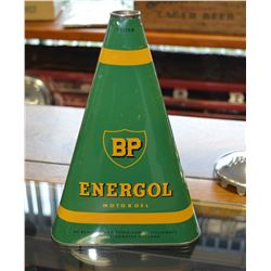 Extremley Rare - Original 1940's BP Energol Oil Can