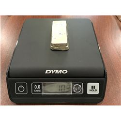 Estate Silver Bar - 10.3 oz - (8.6834 Troy Oz.)
