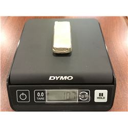 Estate Silver Bar - 10.7 oz - (9.0206 Troy Oz.)