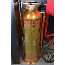 Brass & Copper Fire Extinguisher