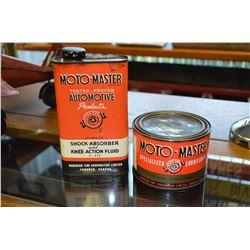Set of Moto-Master Tins
