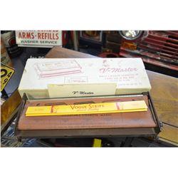V-Master King Size rolling machine & Original Box