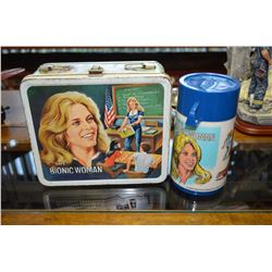 Bionic Woman Tin Lunch Kit