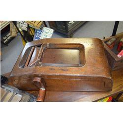 Antique Wooden Receipt Register