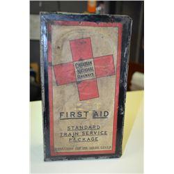 Vintage CNR First Aid Kit