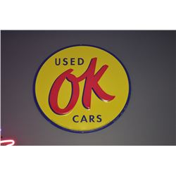 OK Used Cars Sign