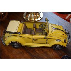 2 - Large Metal Car Models