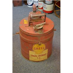 Vintage Shell Container
