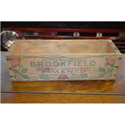 Vintage Cheese Box