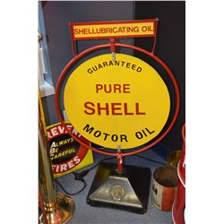 Original Shell Gas Station Swivel Sign