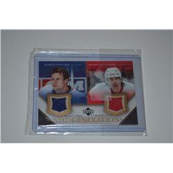 2005-06 Upper Deck NHL Generations #DNZ Markus Naslund/Henrik Zetterberg