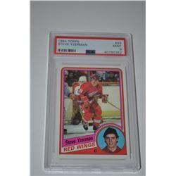 1984-85 Topps #49 Steve Yzerman RC