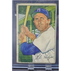1952 Bowman #80 Gil Hodges