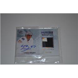 2011-12 SP Authentic Limited Patches #276 Lance Bouma AU/100