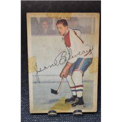 1953-54 Parkhurst #27 Jean Beliveau RC