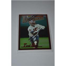 1996 Finest Refractors #338 Terrell Owens B