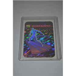 1990 Marvel Universe I Holograms #MH3 Silver Surfer