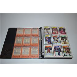 Binder - 1988-89 O-Pee-Chee