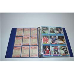 Binder - 1989-90 O-Pee-Chee