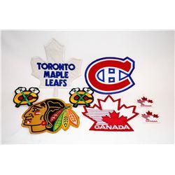 Official NHL Uniform Crests
