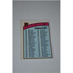 1976-77 O-Pee-Chee #258 Checklist 133-264