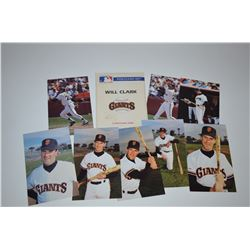 Will Clark - Post Card Set