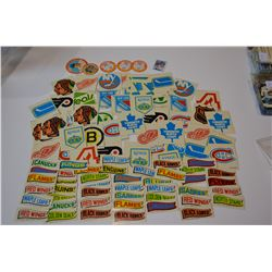 MIXED STICKER LOT