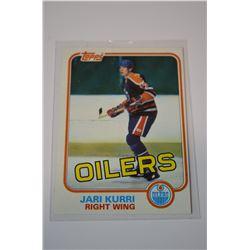 1981-82 Topps #18 Jari Kurri RC