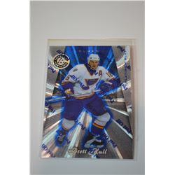 1997-98 Pinnacle Totally Certified Platinum Blue #70 Brett Hull