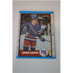 1989-90 O-Pee-Chee #136 Brian Leetch RC