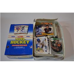 1990 Score Box & Mixed Card Lot