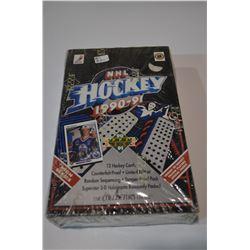 1990-91 NHL UD Box