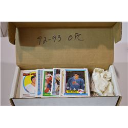1992-93 OPC Box