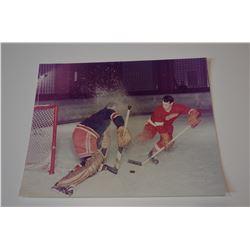 Gordie Howe 8x10 Color Photo