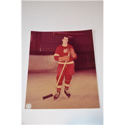 Official NHL 8x10 Color Photo - Gordie Howe