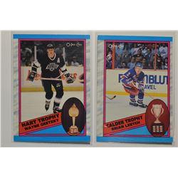 1989-90 O-Pee-Chee Wayne Gretzky Hart