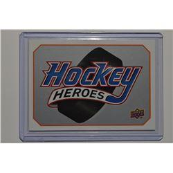 2008-09 Upper Deck Sidney Crosby Heroes #HHSC Header Card