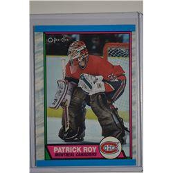 1989-90 O-Pee-Chee #17 Patrick Roy