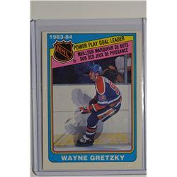 1984-85 O-Pee-Chee #383 Wayne Gretzky LL