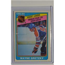 1984-85 O-Pee-Chee #382 Wayne Gretzky LL