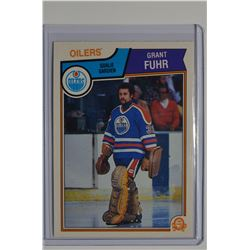1983-84 O-Pee-Chee #27 Grant Fuhr